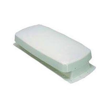 "Picture of Barker  White Plastic 20""L x 5""W Refrigerator Vent Cover for Barker 12604 99-2762"